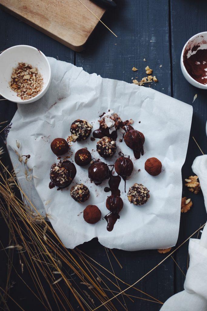 Energy balls de Noël sans gluten