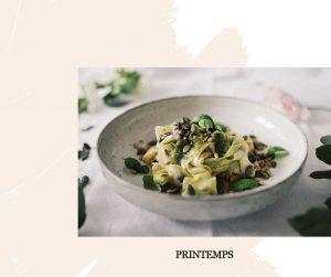 recettes végétariennes et sans gluten