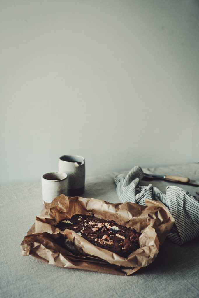 Brownie au tahini sans gluten